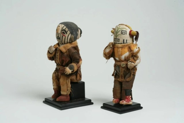 227: Pair of Hopi Katsina Dolls