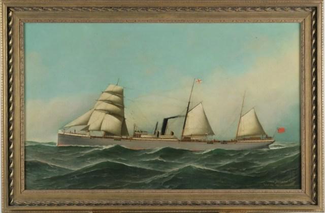 271: Antonio Jacobsen (American, 1850-1921)