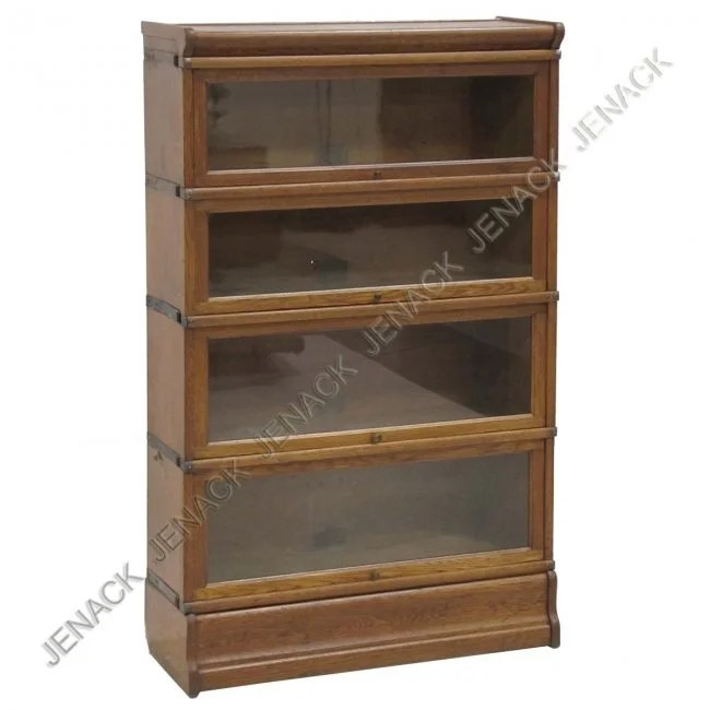 247 Globe Wernicke Oak Barrister39s Sectional Bookcase