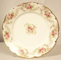 Antique Limoges Dinner Plate ED1246 : Lot 534