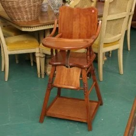 1214 194039s Convertible High Chair Play Table 17 1 2