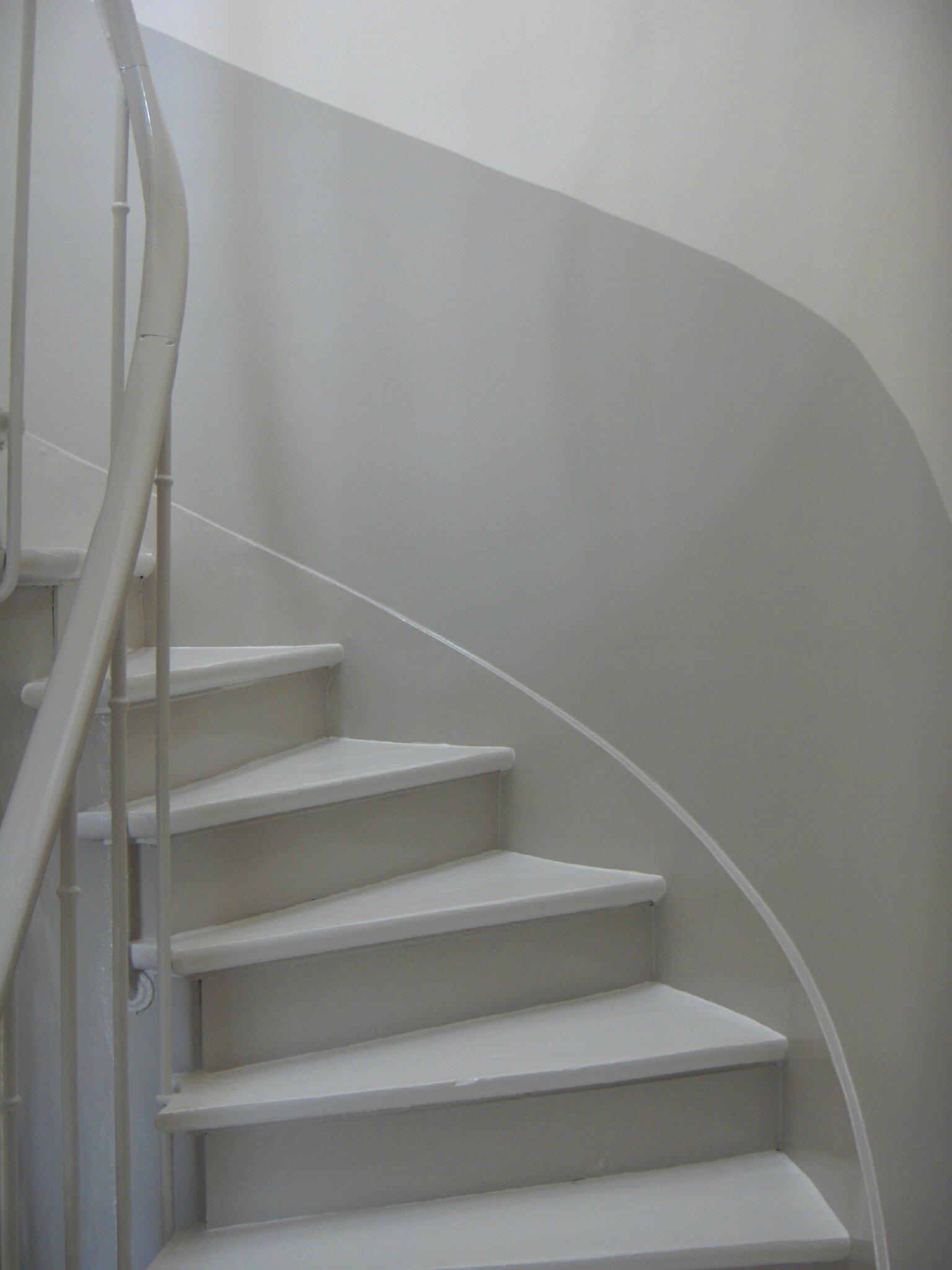 Peinture Cage Escalier Maison | Montee Escalier Interieur Elegant ...