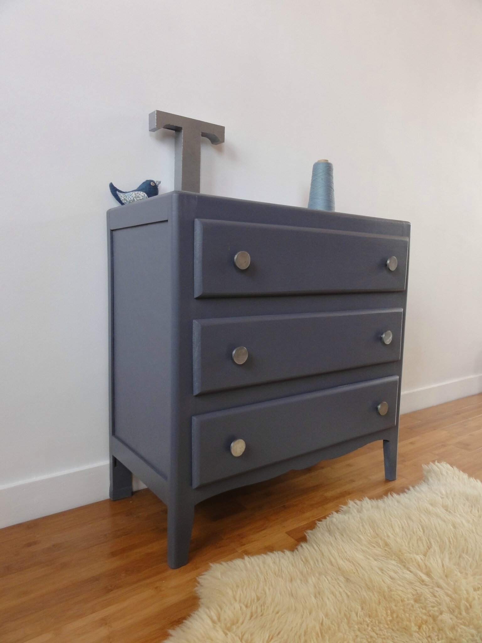 Commode Gris Anthracite Commode Gris Anthracite