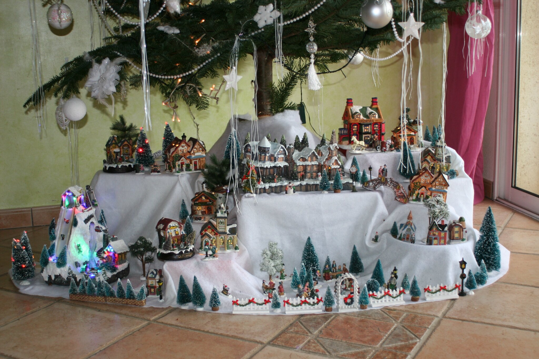 Village De Noel Decoration Idee Decoration Village De Noel