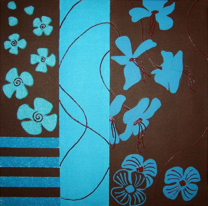 Salon Bleu Salon Bleu Turquoise Chocolat Design Salon ...