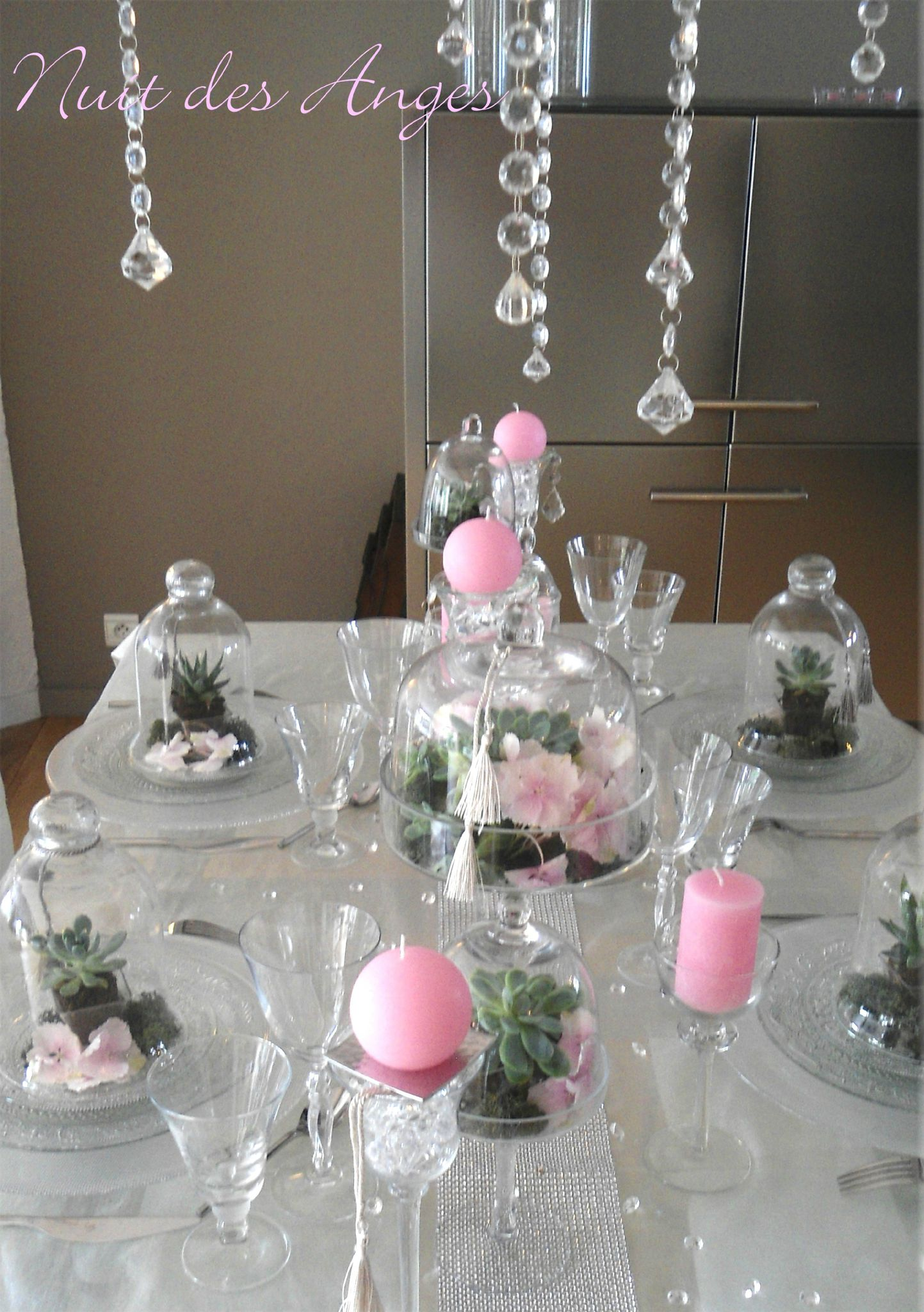 Deco Table Rose Et Blanc Decoration De Table Rose Et Blanc