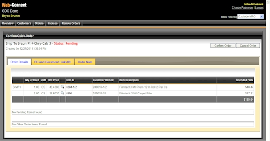 Prophet 21® Remote Sales Orders \u2013 Web Connect - sales order form