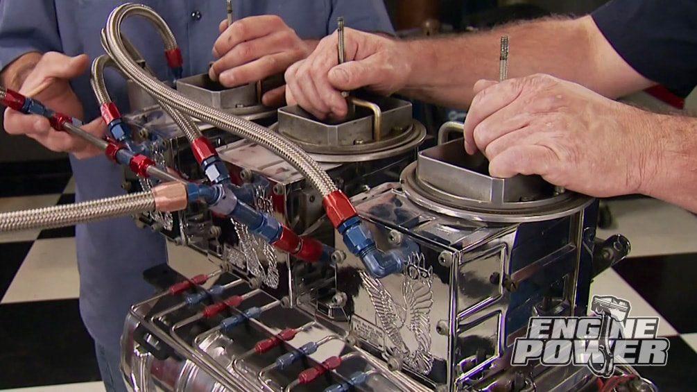 Blown Monster  Engine Power