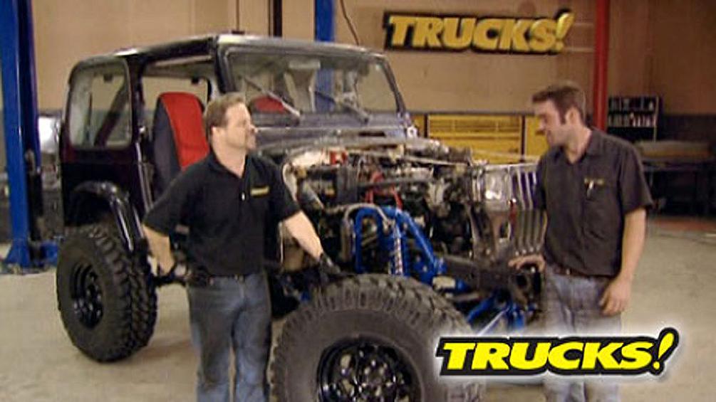 Project Jeep YJ Part 2  Trucks!