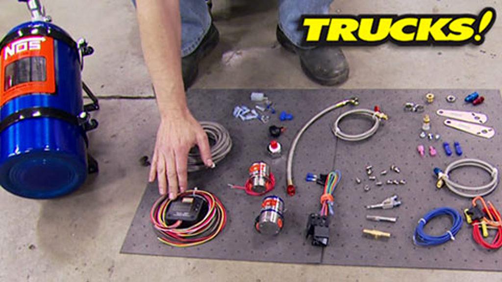 2006 GMC Nitrous Install!  Trucks!