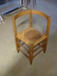 1216: primitive corner chair : Lot 1216