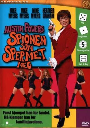 Austin Powers: Spionen som spermet meg. (Foto: SF Norge AS)