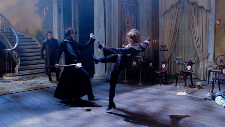 Vill vampyraction i Abraham Lincoln Vampire Hunter (Foto: 20th Century Fox).