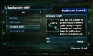 Mikrotransaksjoner i Dead Space 3. (Foto: EA)