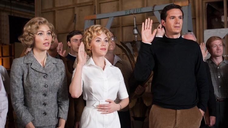Jessica Biel, Scarlett Johansson og James D'Arcy i Hitchcock (Foto: 20th Century Fox).