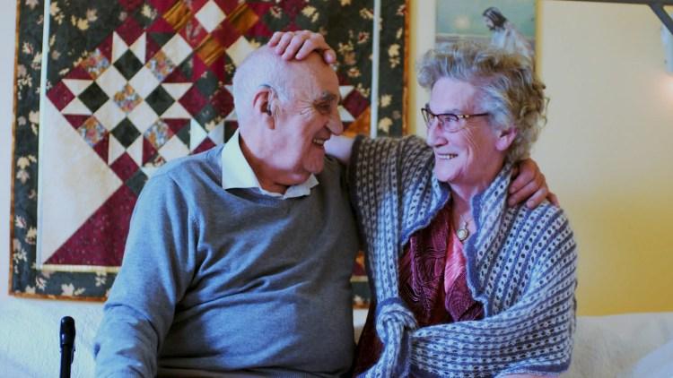 Joralf og Signe Gjerstad i Mannen fra Snåsa (Foto: Norsk Filmdistribusjon / Speranza Film).