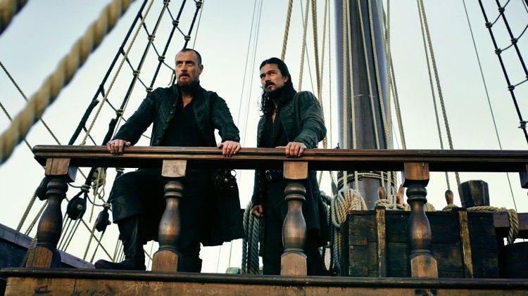 Captain Flint og Long John Silver fant nye horisonter i Black Sails tredje sesong, og løftet serien til å bli en liten perle. (Foto: HBO Nordic)