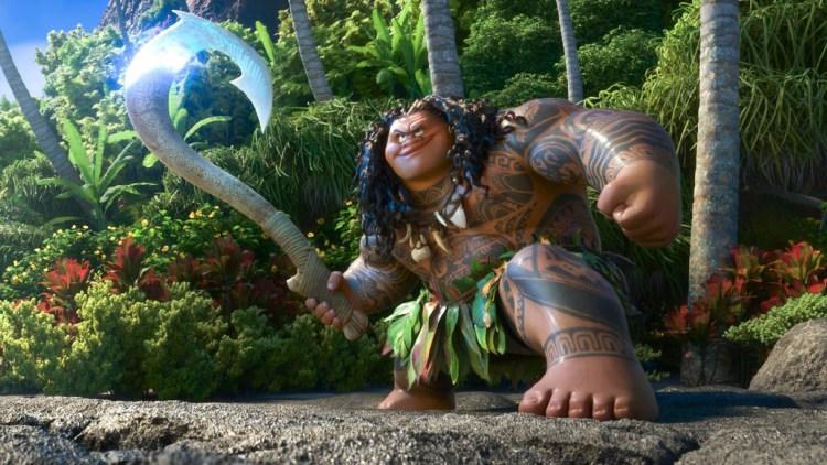 """Jeppe Beck Laursen er den norske stemmen til Maui, en halvgud i filmen """"Vaiana"""". (Foto: The Walt Disney Company Nordic)"""