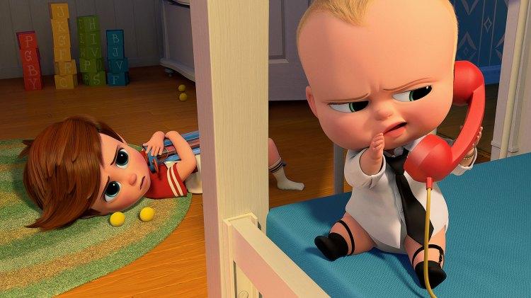 Alec Baldwin har stemmen til Boss Baby i den amerikanske utgaven. (Foto: Twentieth Century Fox Norway)