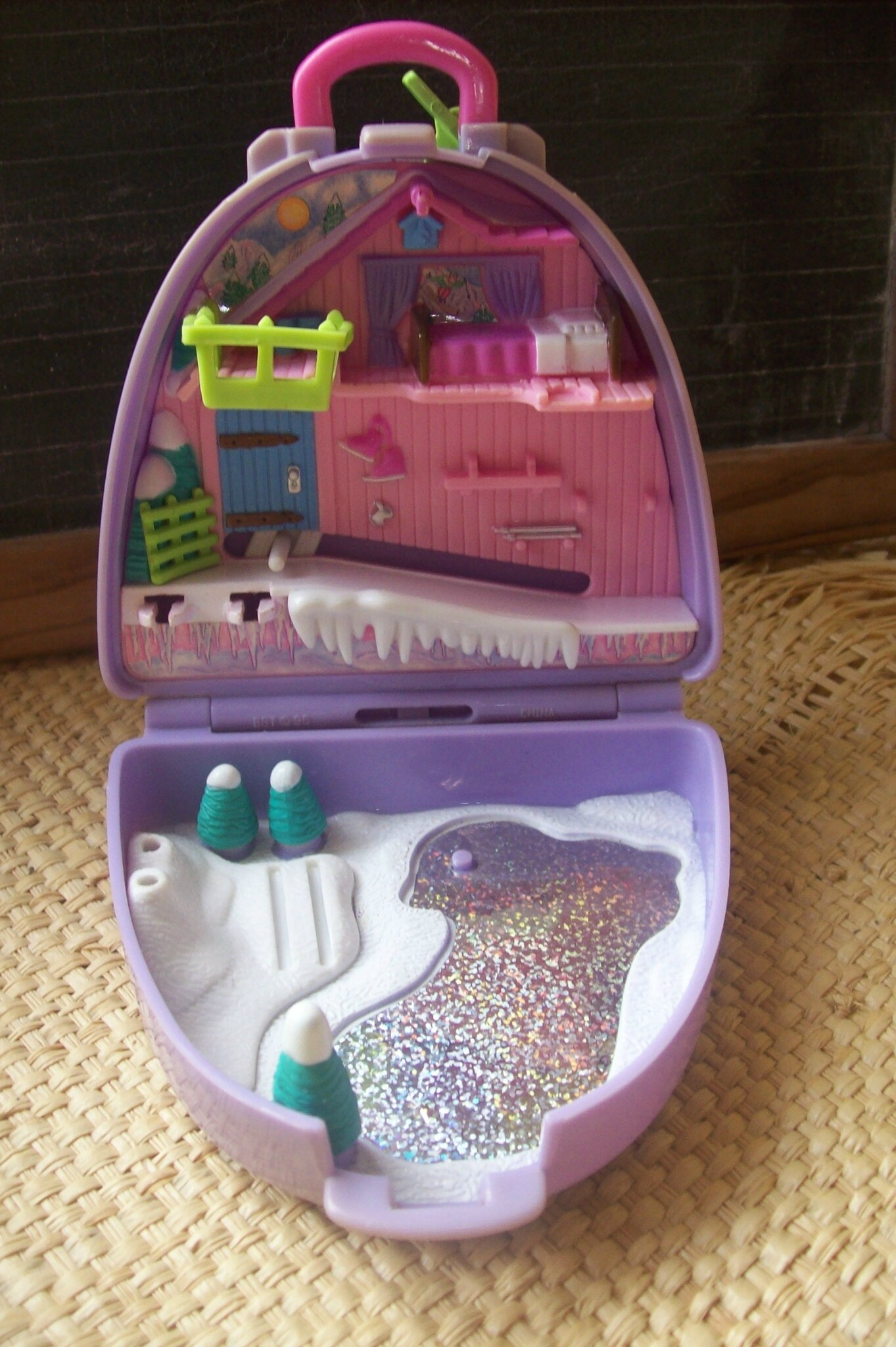 Personnage Decoration Jardin Valise Polly Pocket - Le Gren'son