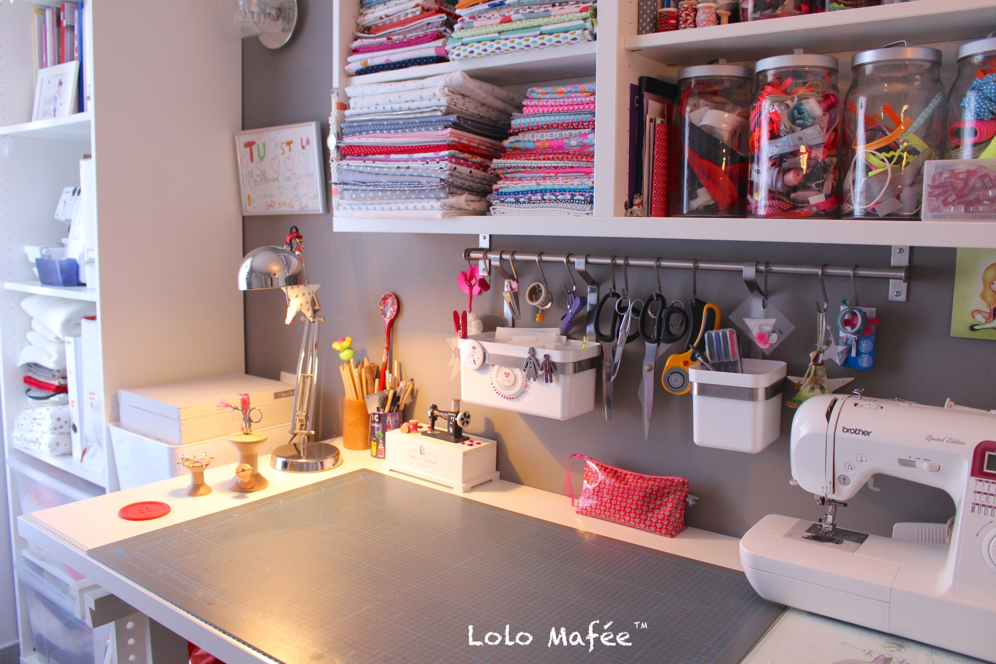 Bureau couture ikea luxe meuble rangement couture anciendemutu org