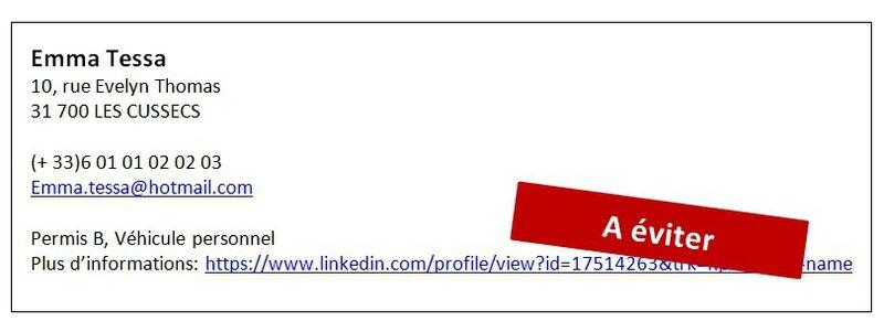 mettre son cv en lien sur linkedin