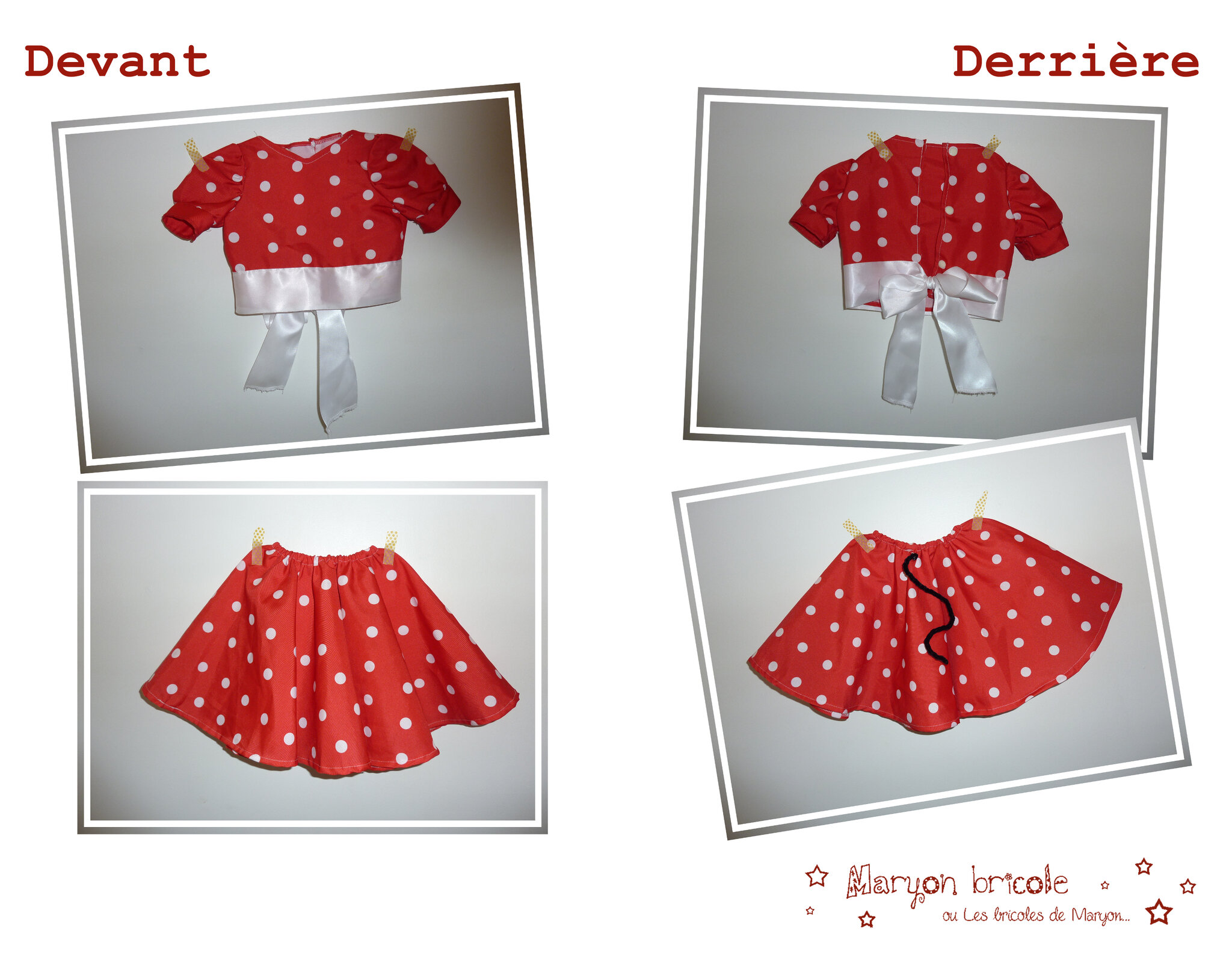 Pliage De Serviette En Papier Costume Pliage Serviette Minnie