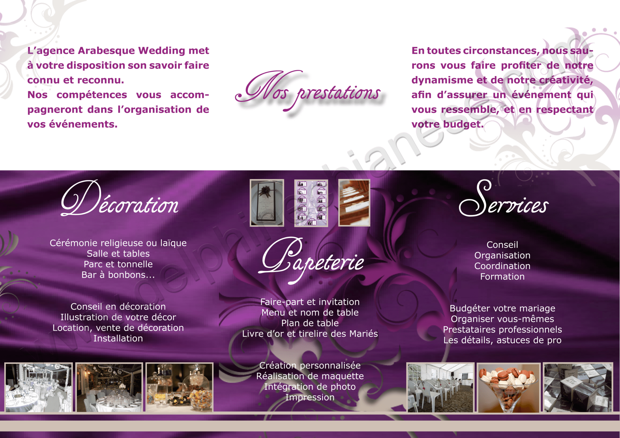 Agence De Decoration Evenementielle Agence Evenementielle Quotarabesque Wedding Quot 2012
