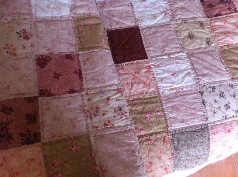 Couette Grande Dimension Chemin De Table Patchwork - Cagolette
