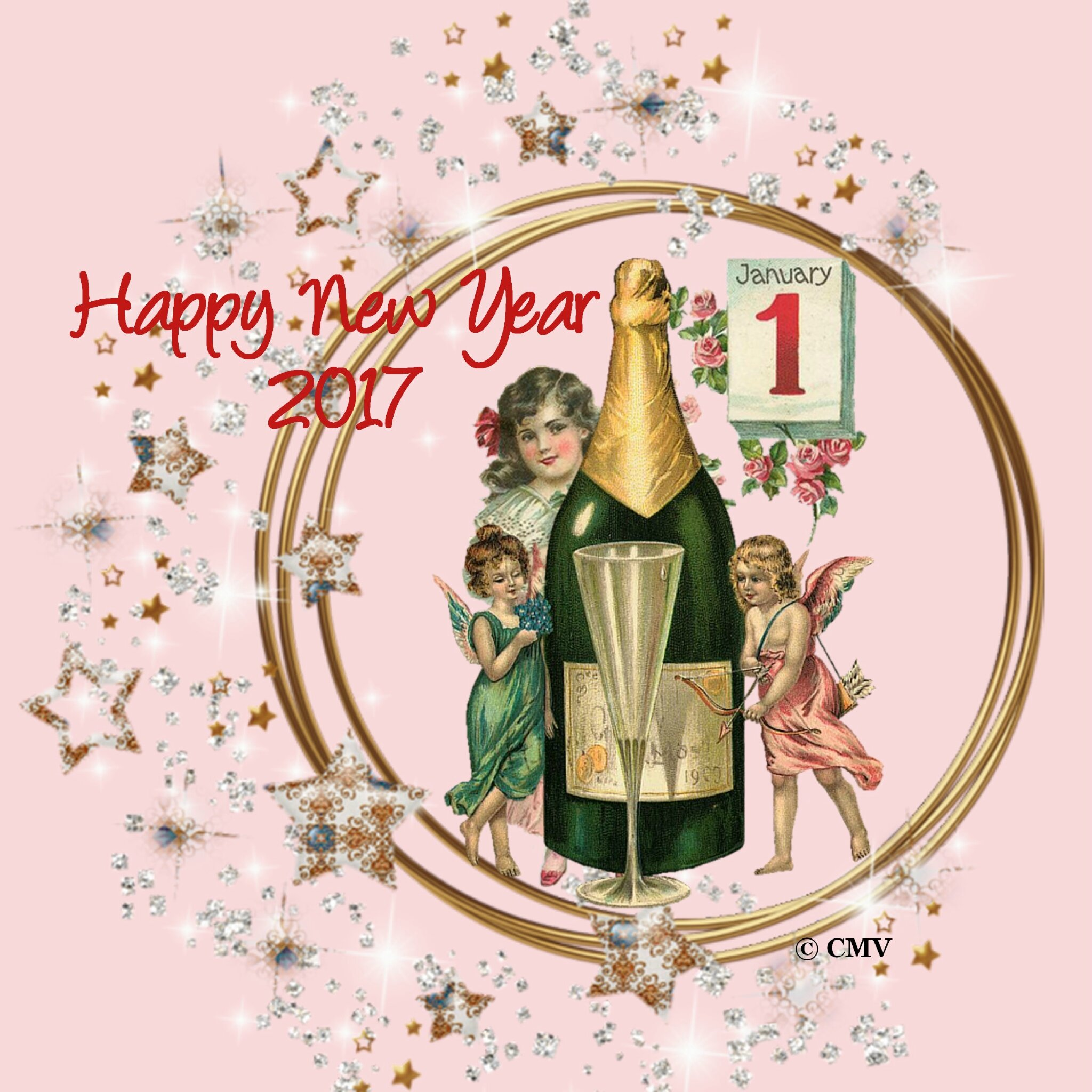 Salon Sugar Lyon 2016 Carte De Voeux Happy New Year 2017 En Anglais Les