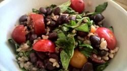Italian Brown Rice Salad