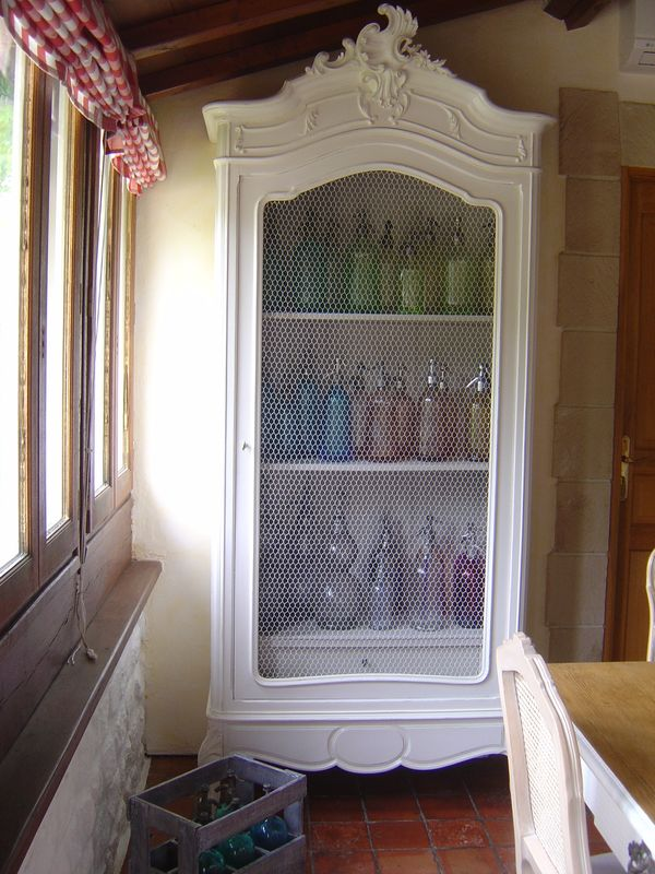 Renovation Meuble Ancien Armoire Rocaille (avant - Apres) - Cottage Et Patine - Le Blog