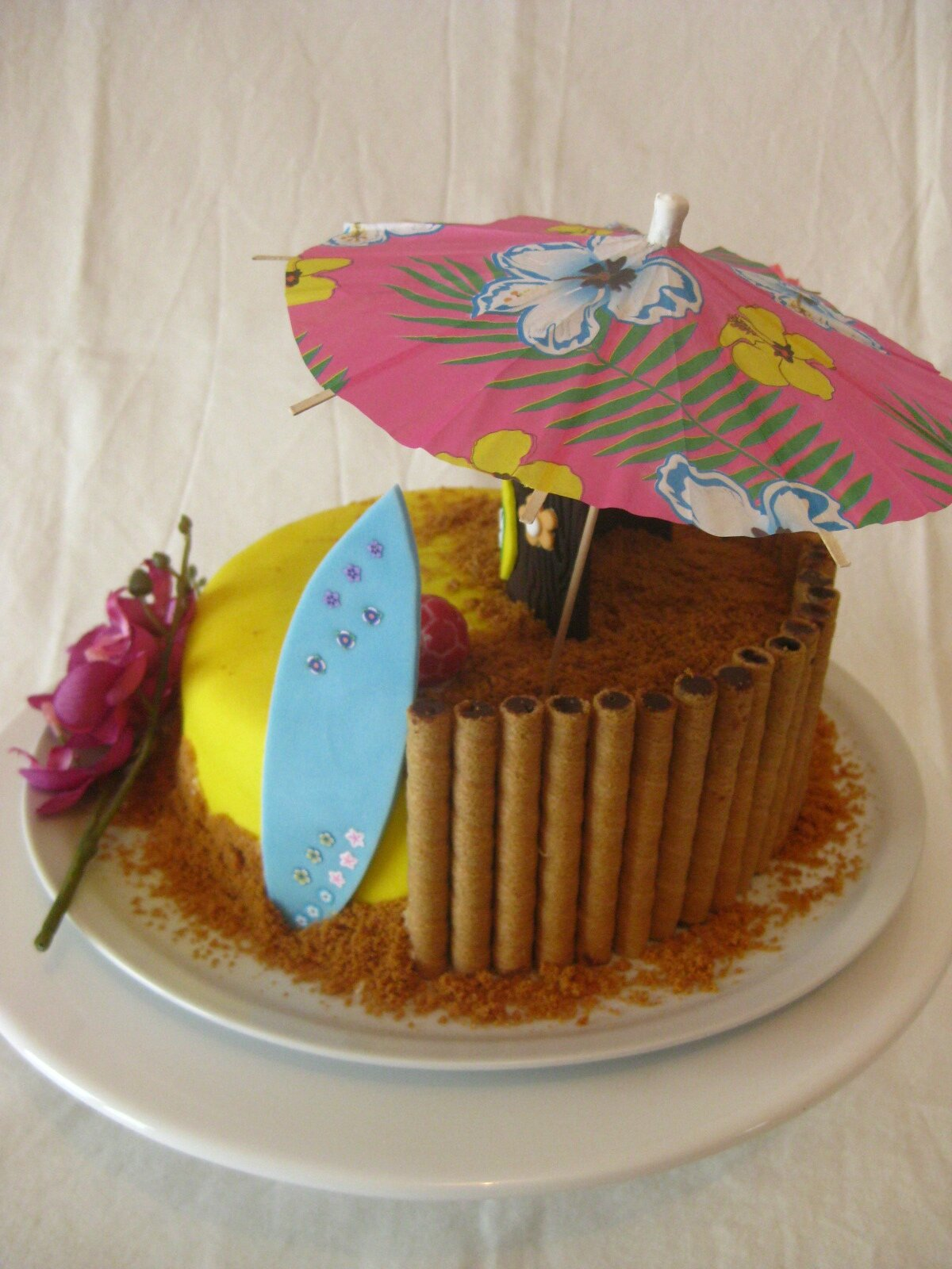 Decoration Anniversaire Hawaii Decoration Gateau Hawaii