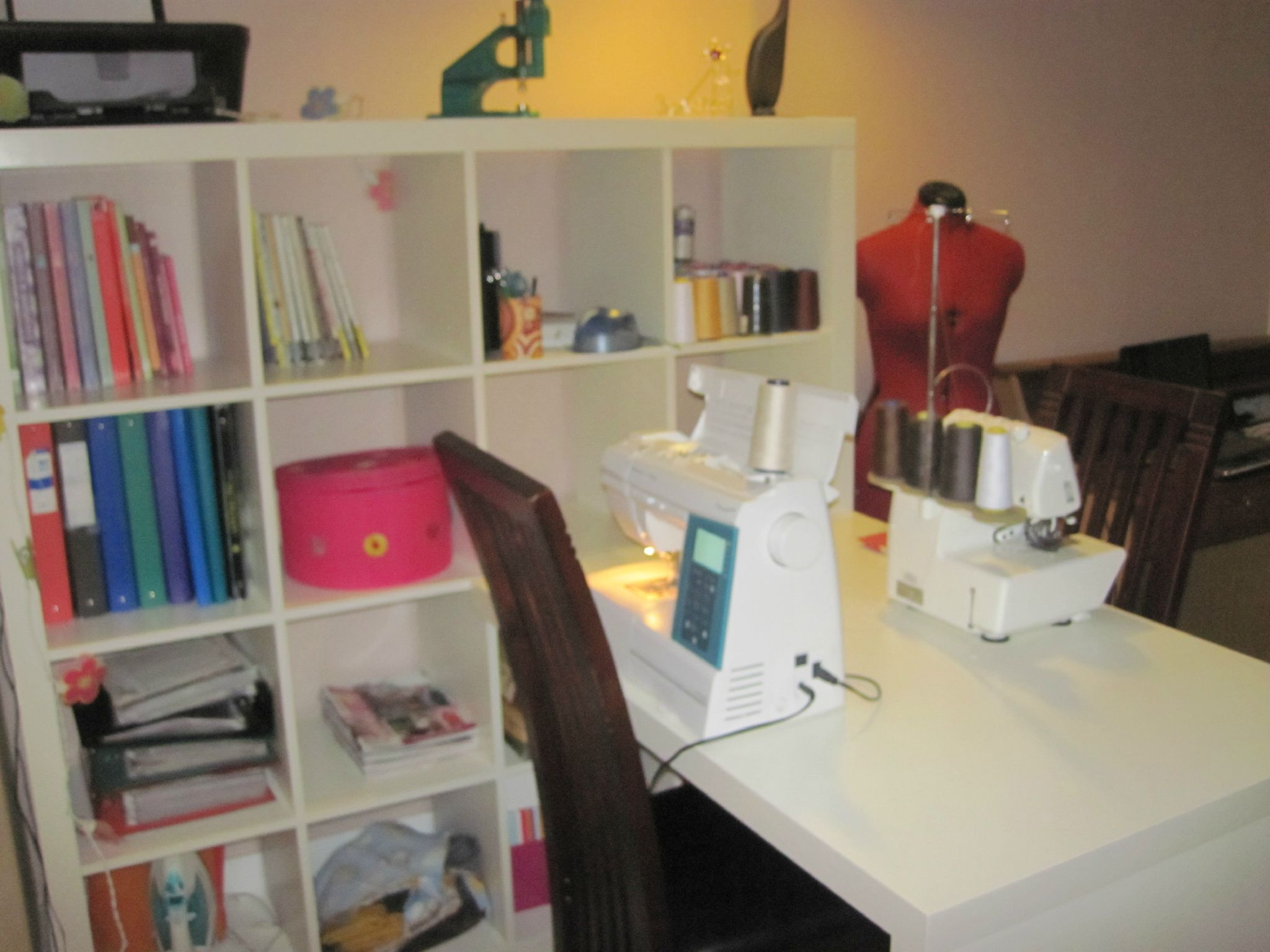Rangements pour couture le rangement de mon atelier diy du