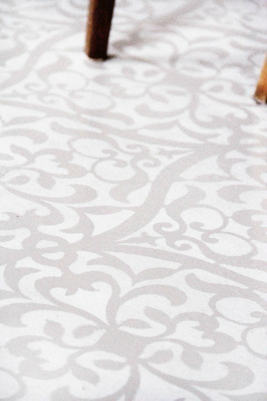 Projet déco SC+ salon chambre idées décoration enduit béton coulé - peindre du carrelage de sol