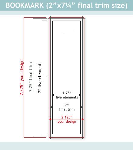 Dimensions Of A Bookmark Arts - Arts