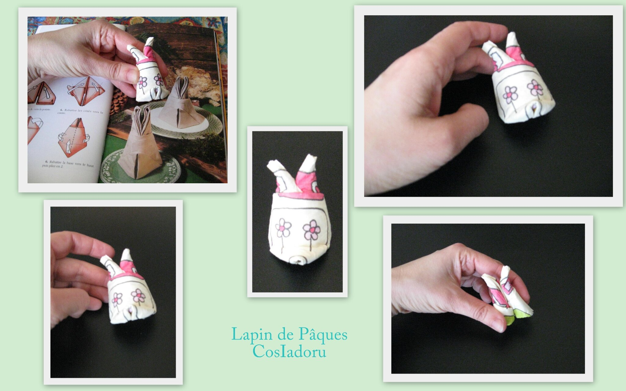 Pliage Serviette Chaussures De Lutin Latest Good Pliage De Serviettes Lapin De Pques With