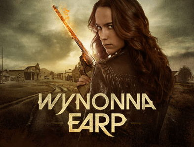 Beautiful Girl With Gun Wallpaper Wynonna Earp S 233 Rie 2016 Syfy Chch Au Fil Des S 233 Ries