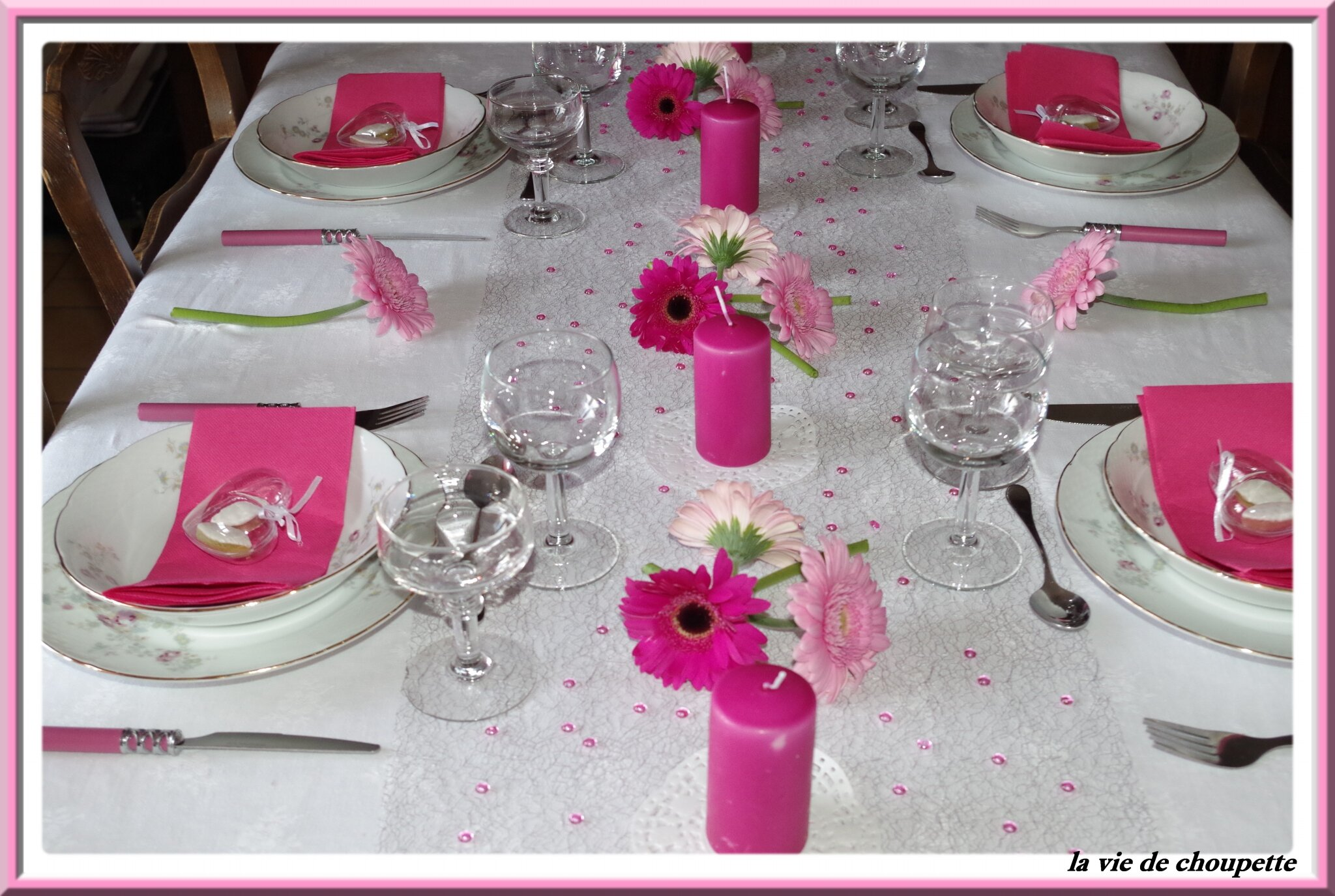 Des Decoration Ma Decoration De Table Fete Des Meres 2015 Quand Choupette Et