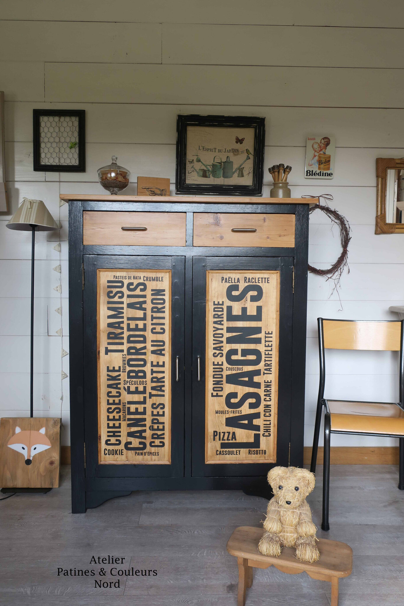 Buffet Vintage Relooké Armoire Vintage Relooke Simple Armoire Vintage Relooke With