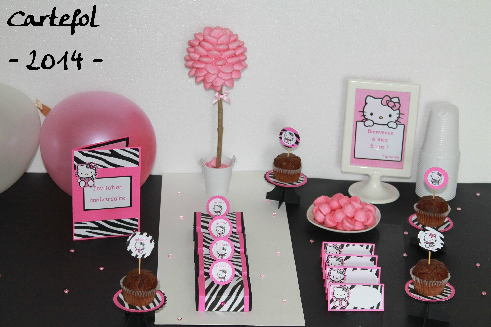 Decoration Anniversaire Girly Collection Anniversaire Girly Cartefol
