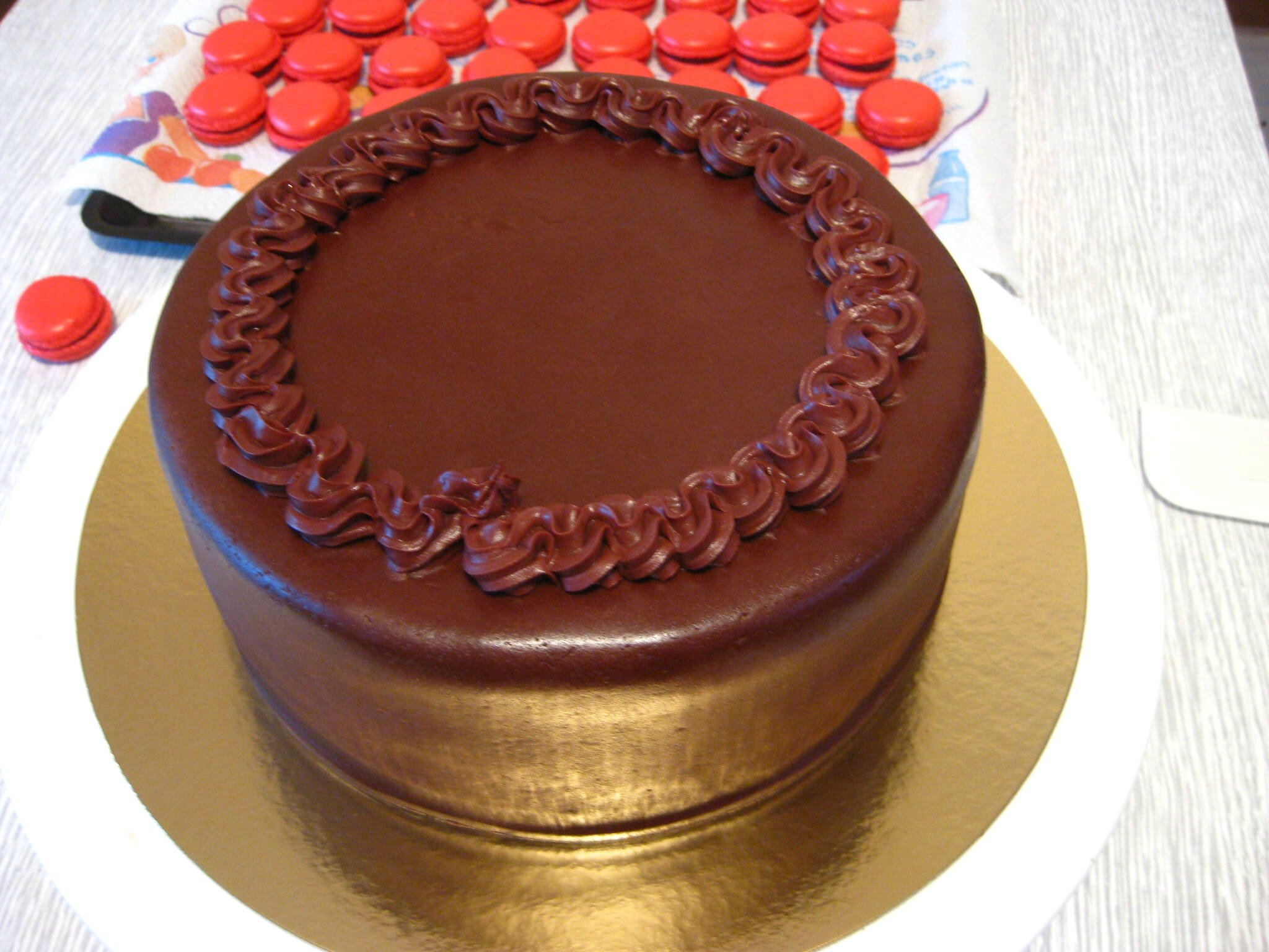 Décoration De Gateau Au Chocolat Decoration Gateau Ganache
