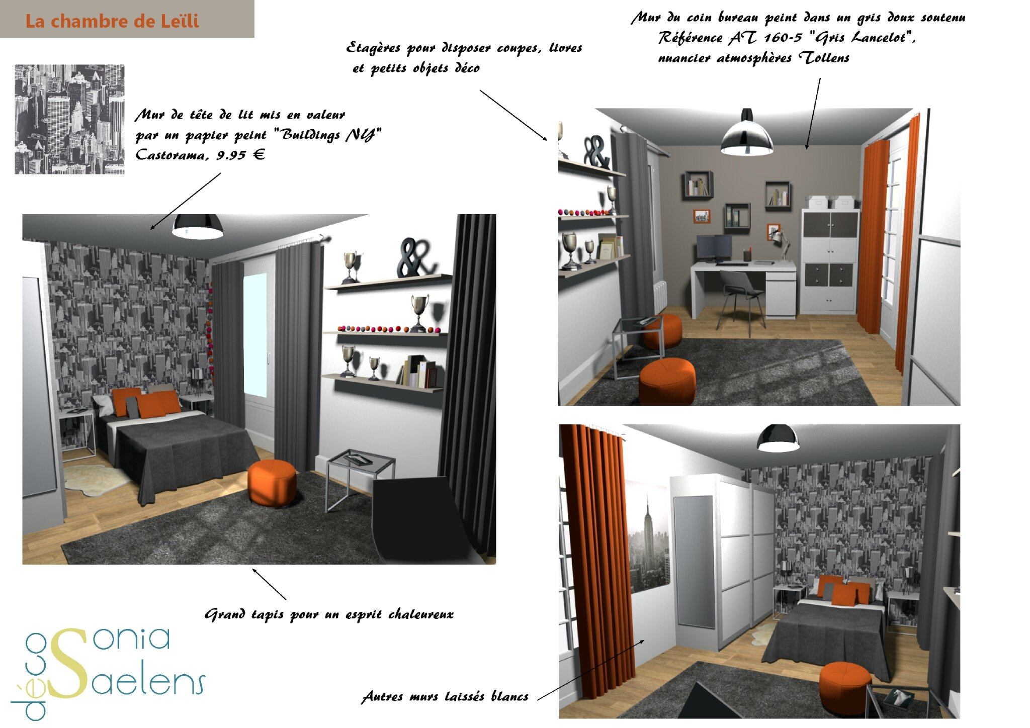 Ambiance Chambre Ado Projet Client Relooking D 39une Chambre D 39ado Sonia