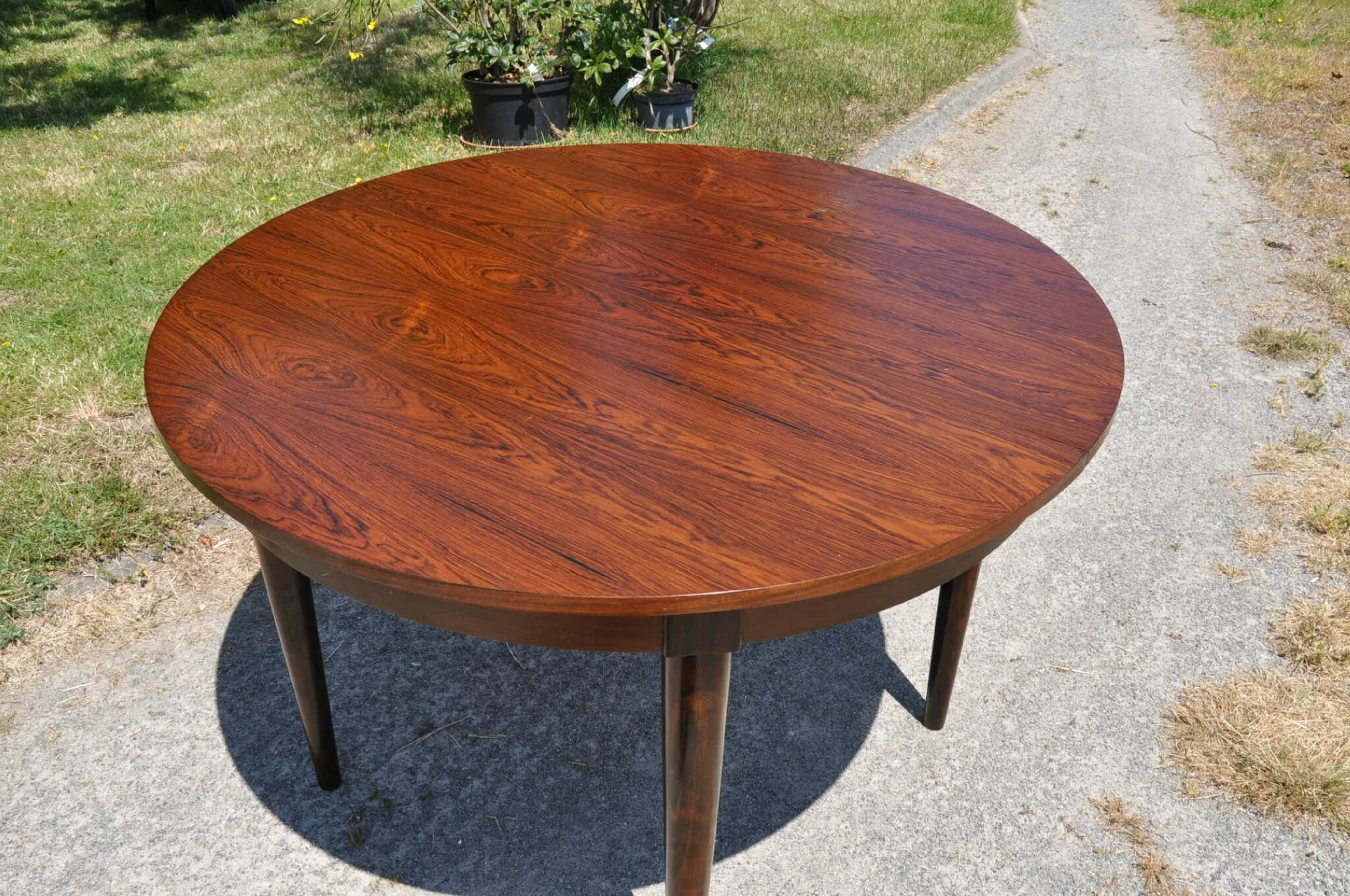 Table Ronde Scandinave Rallonge Table Ronde De Type Scandinave Article Vendu Antiquités Du