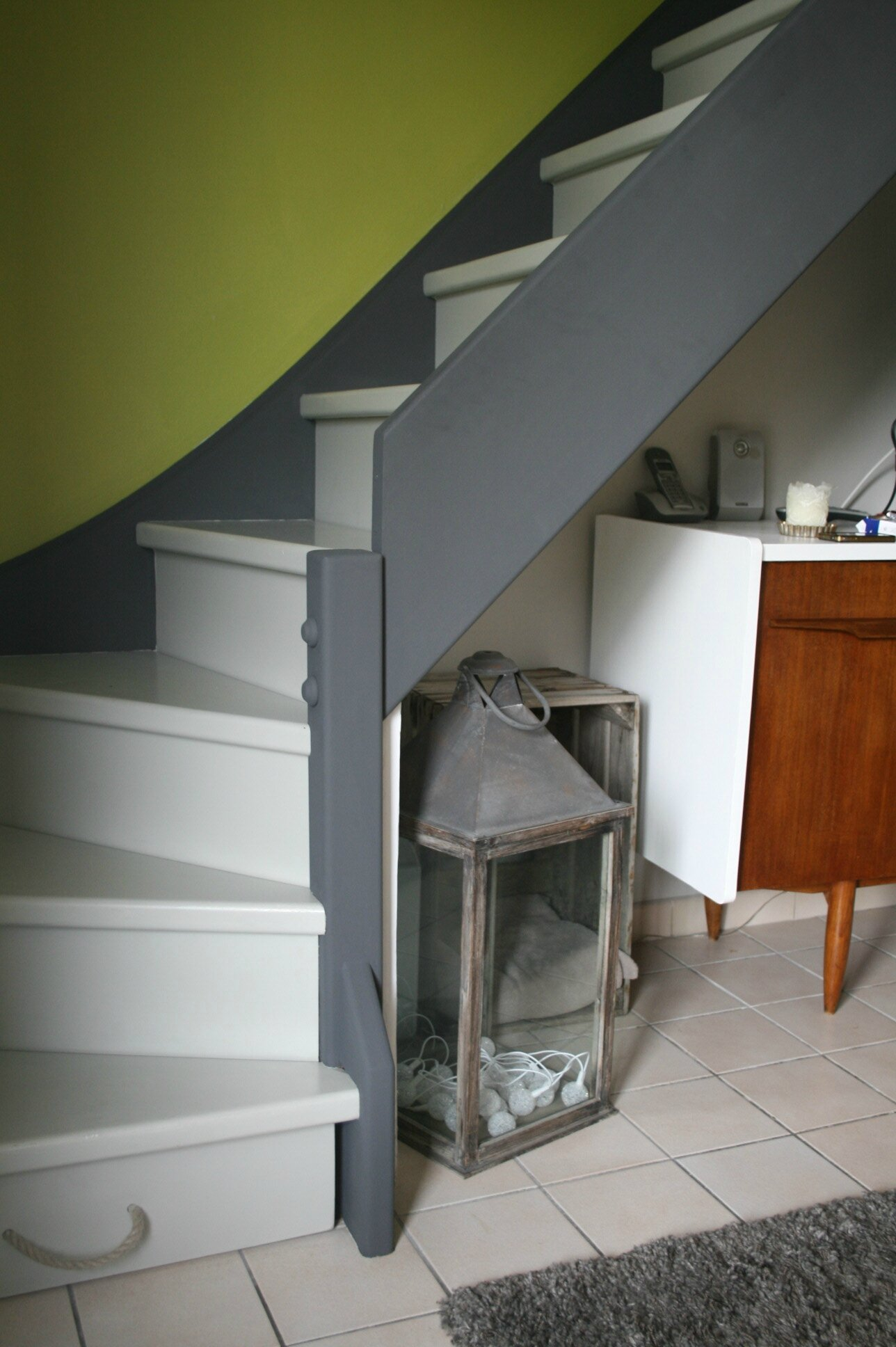Escaliers Peints Photos Escalier Peint N17 L 39atelier
