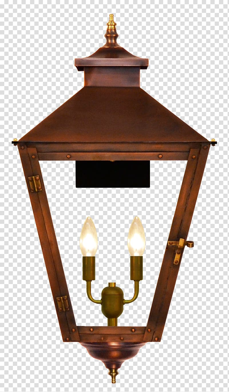Gas Lighting Lantern Coppersmith Light Fixture Copper Wall Lamp Transparent Background Png Clipart Hiclipart