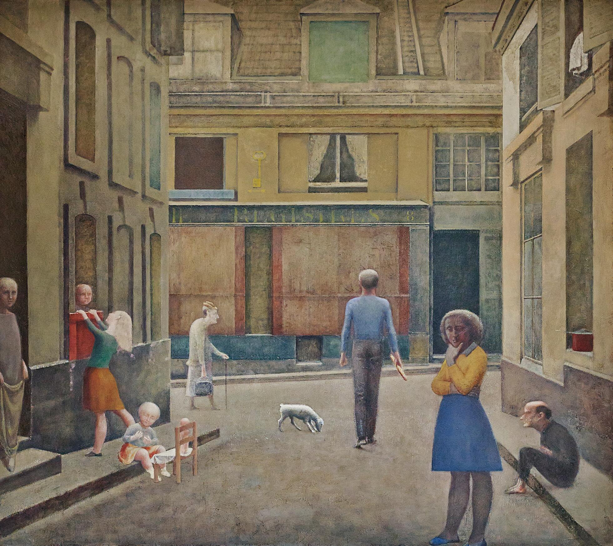 La Chambre Turque Balthus Retrospective Is The First Exhibition Devoted To Balthus By A