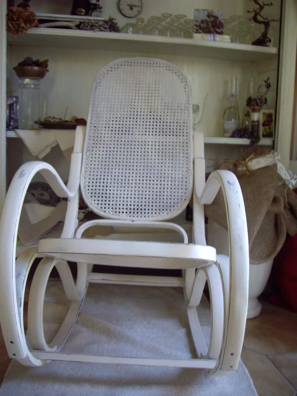 Tablette Deco Rocking-chair - Photo De Relooking - Décosanges