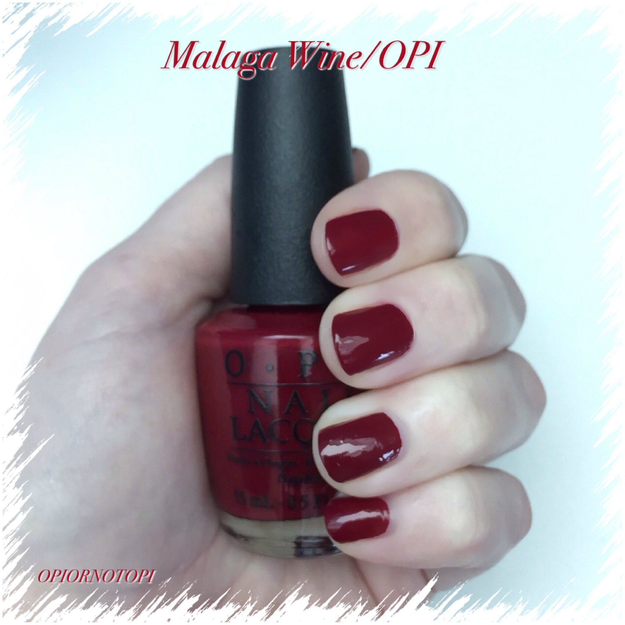Avis Malaga Malaga Wine Ou Bordeaux Wine Opi Or Not Opi