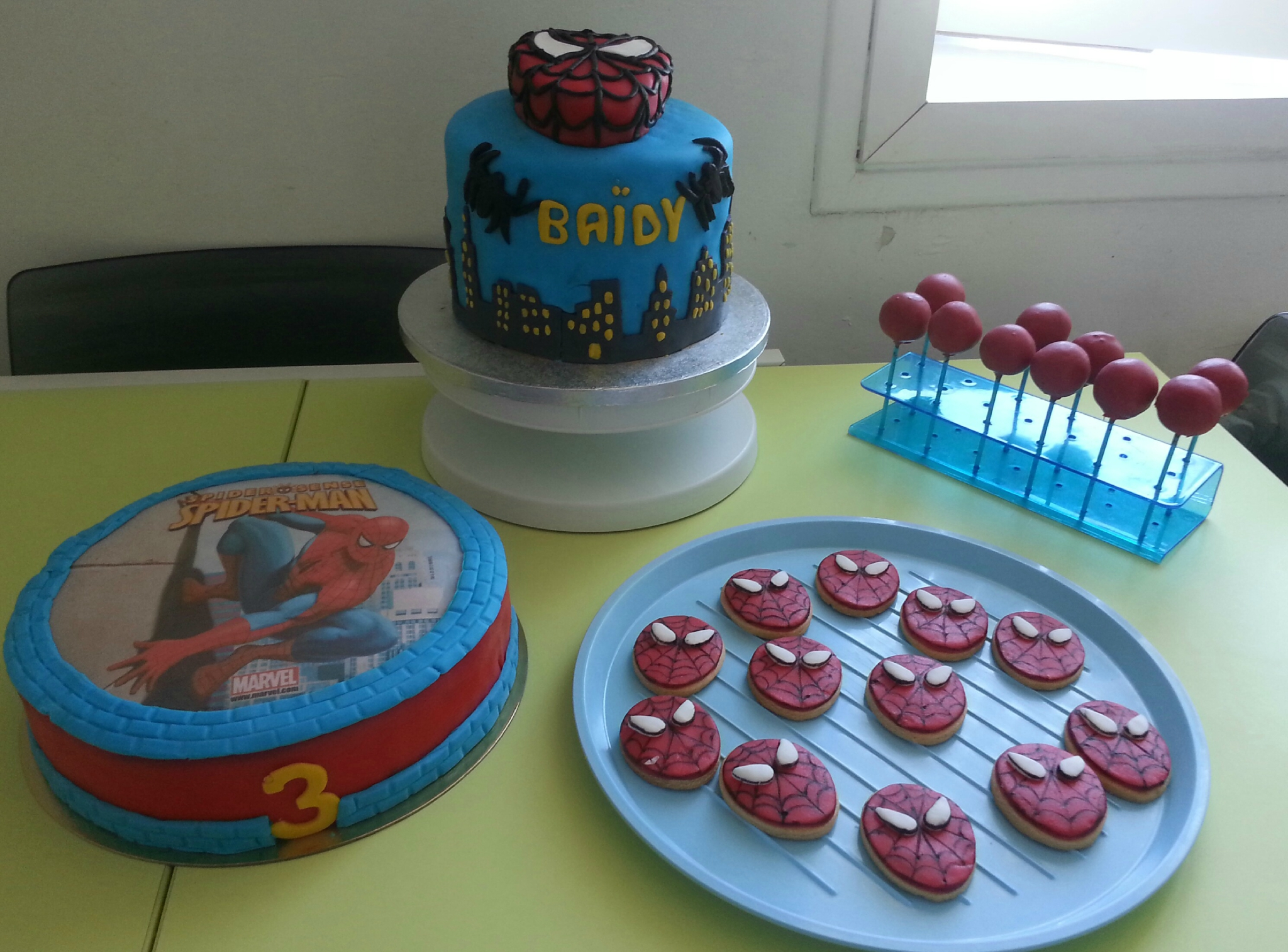 Decoration Anniversaire Theme Spiderman Anniversaire Spiderman Lily 39s Bakery